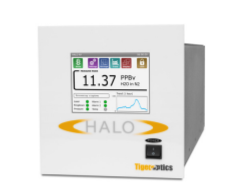 The HALO RP H2O can measure in a range from 50 Torr to 15 psig.