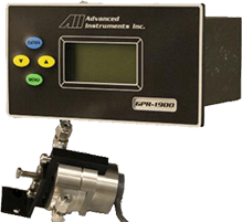 GPR 1900 MS PPB oxygen analyzer measures O2 concentrations from 10 PPB to 1000 PPM