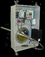 De continue snelheid en temperatuurmeting is zeer belangrijk bij gebruik van een systeem met gasstromen (bijvoorbeeld binnen uitlaatlucht, uitlaatgassen).