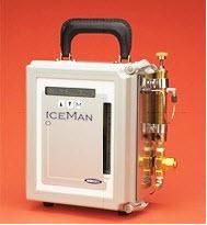 De Iceman richt zich op de unieke eisen van vocht analyse in HFC's en koelmiddelen.