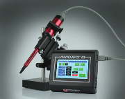 Kleinere pipetten kan worden gebruikt met de Nanoject III door de nieuwe verbeterde werkwijze voor het bevestigen van de micropipet.