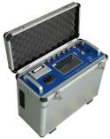 Het is ontworpen voor draagbare applicaties en optionele temperatuur gas, druk, flow test functie