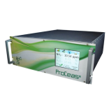 Lage druk bemonstering Laser met extreem hoge resolutie De ProCeas® GENERAL is een complete vooraf gekalibreerde multicomponent (CH4, CO, CO2, H2, H2O, HCI, HCN, HF, N2O, NH3, O2) laser-infraroodspectrometer voor gassenanalyse.