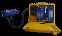 Draagbare gassondes, verwarmde leiding en analysers